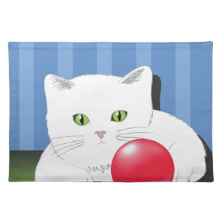 63White Cat_rasterized Placemat