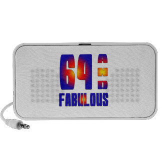 64 And Fabulous Portable Speakers
