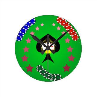 64Casino Logo_rasterized Round Clock