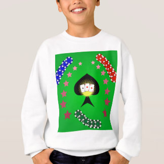64Casino Logo_rasterized Sweatshirt