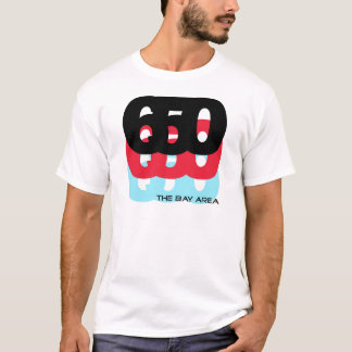 650 Area Code T-Shirt