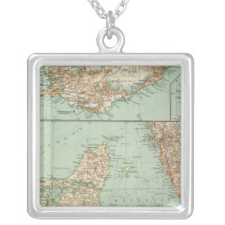 65 Denmark, Iceland Silver Plated Necklace