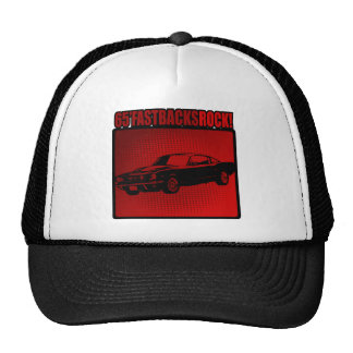 65' Fastbacks Rock! Hats