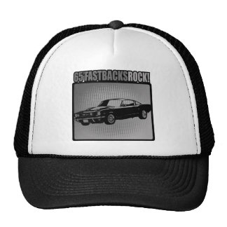 65' Fastbacks Rock! Mesh Hat