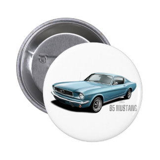 65 Mustang Button