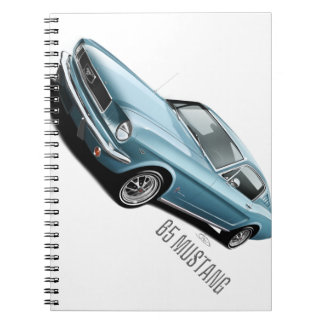 65 Mustang Spiral Note Book