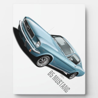 65 Mustang Photo Plaque