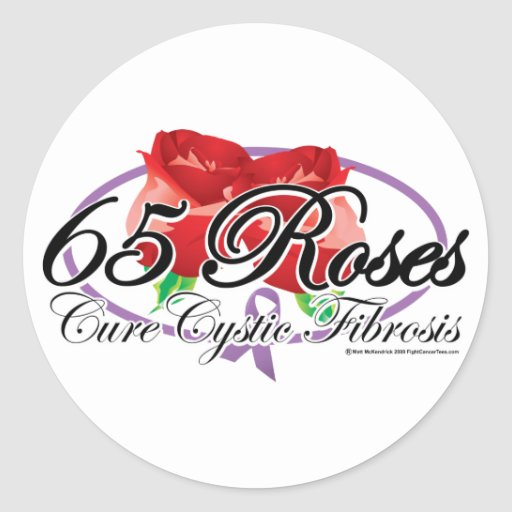 65 Roses Stickers