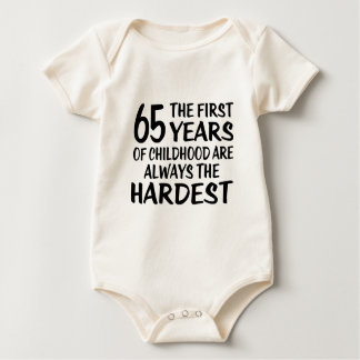 65 The First  Years Birthday Designs Baby Bodysuit