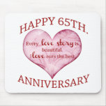 65th. Anniversary Mouse Pad
