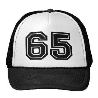 65th Birthday Cap