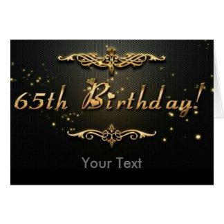 65th Birthday! Card