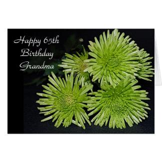 65th Birthday Card For Grandma