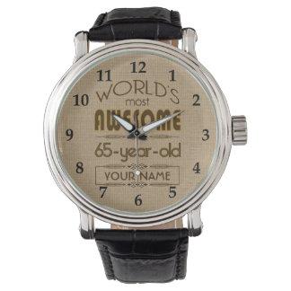 65th Birthday Celebration World Best Fabulous Wrist Watch