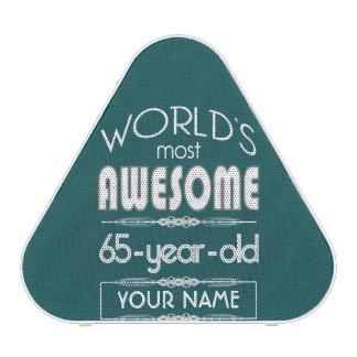 65th Birthday Worlds Best Fabulous Dark Green