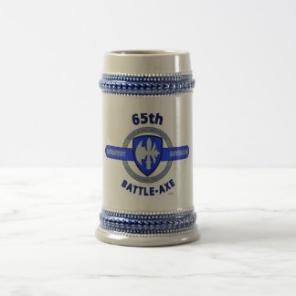 "65TH INFANTRY DIVISION ""BATTLE-AXE DIVISION"" BEER STEIN"