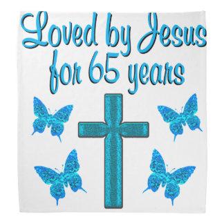 65TH LOVE JESUS KERCHIEFS