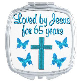 65TH LOVE JESUS VANITY MIRRORS