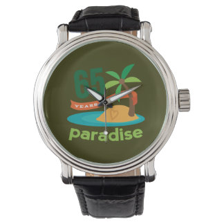 65th Wedding Anniversary Funny Gift For Her Wrist Watch