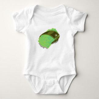65Wallet_rasterized Baby Bodysuit