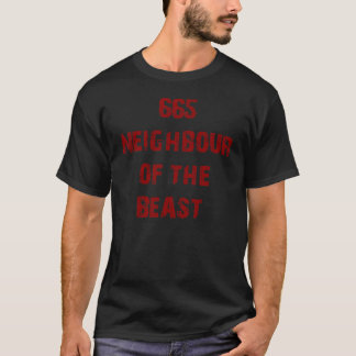 665 NEIGHBOUR OF THE BEAST DESIGN #2 T-Shirt
