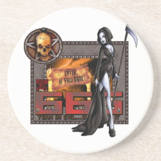 666 Sandstone Coaster