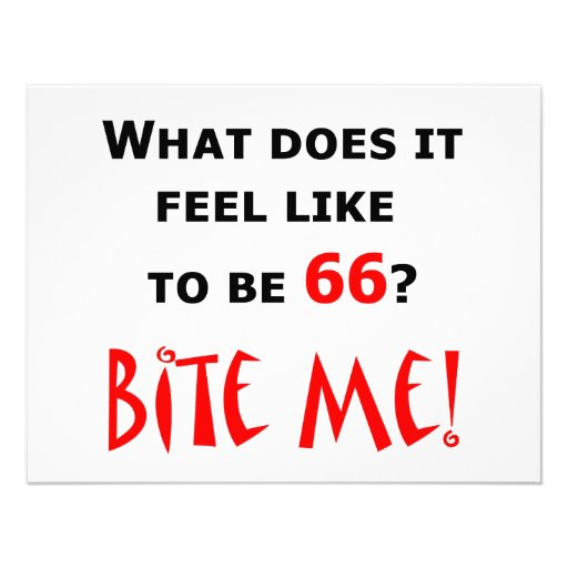 66 Bite Me! Announcement