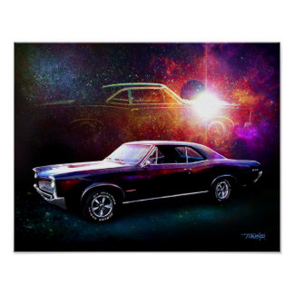 '66 GTO painting Poster