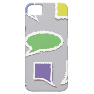66Speech Bubbles_rasterized Case For The iPhone 5