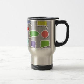 66Speech Bubbles_rasterized Travel Mug