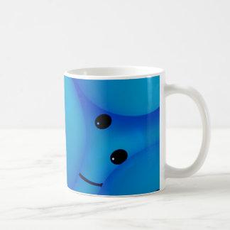 67198 smiles smiley face cartoon smile team blue coffee mugs