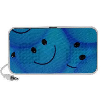 67198 smiles smiley face cartoon smile team blue laptop speakers