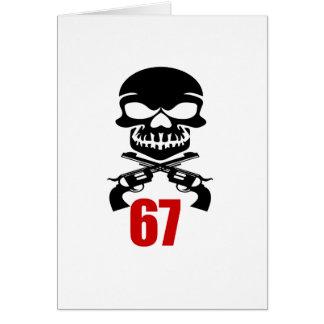 67 Birthday Designs Card