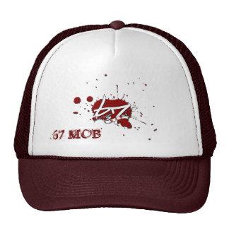 67 MOB RECORD LABEL LOGO TRUCKER HAT