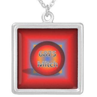 6875Mitch Logo Necklace