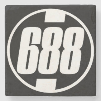 688, Midtown Atlanta Marble Stone Coaster