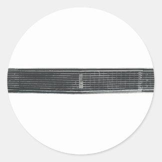68-Camaro-RS Round Sticker