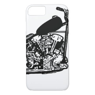 68 Knuckle Head Motorcycle iPhone 7 Case