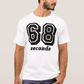 68 Seconds Bg Black Tee