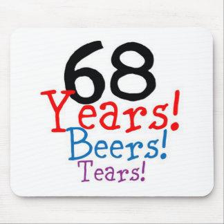 68 Years Beers Tears Mouse Pad