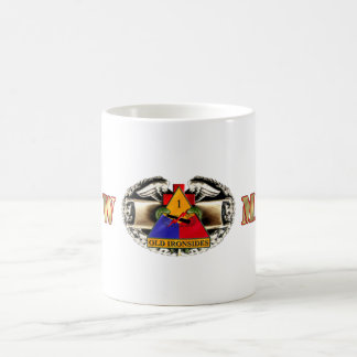 68W 1st Armored Division Coffee Mugs