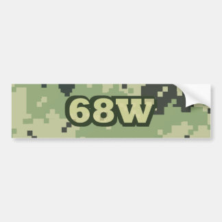 68W BUMPER STICKER