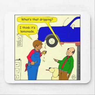 695 car lemonade cartoon mouse pad