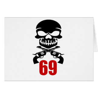 69 Birthday Designs Card