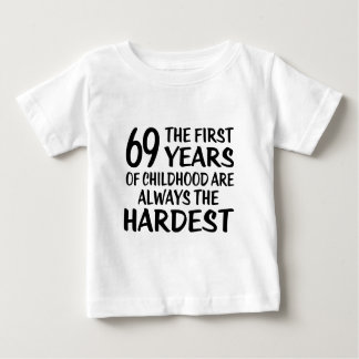 69 The First  Years Birthday Designs Baby T-Shirt