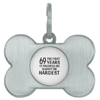 69 The First  Years Birthday Designs Pet ID Tag