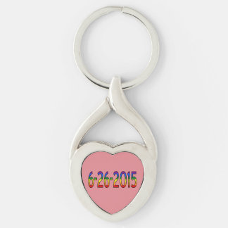 6-26-2015 Gay Marriage is Legal Key Ring