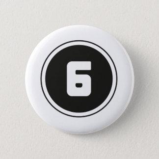 ## 6 ## 6 CM ROUND BADGE