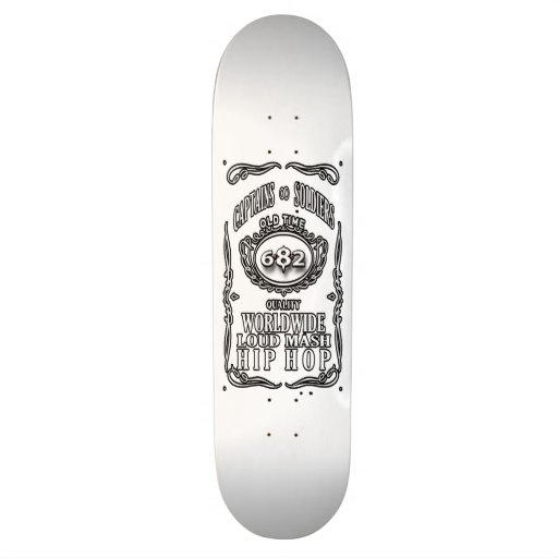 6.8.2 Records ( Captains & Soldiers ) Skate Board