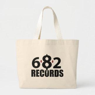 6.8.2 Records International Large Tote Bag